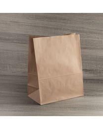 Χάρτινη τσάντα κραφτ μεγάλη χωρίς χεράκι
