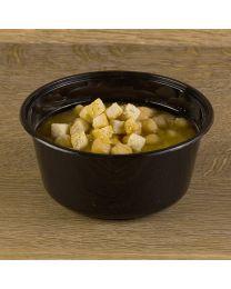 Δοχείο σούπας μαύρο 750ml με καπάκι set