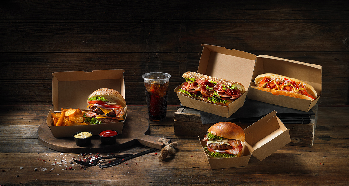 Συσκευασίες για Burger