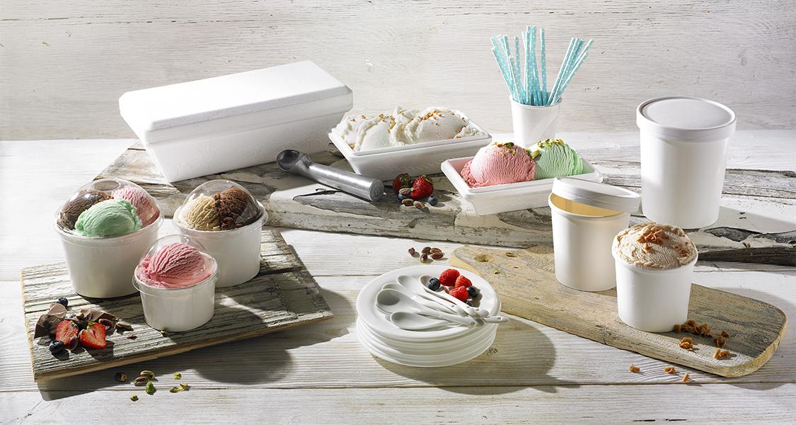 Συσκευασία για Παγωτά & Γλυκά