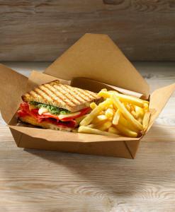 Συσκευασίες για Streetfood & Sandwich